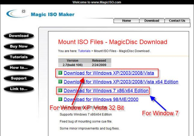 Download MagicDisc Program