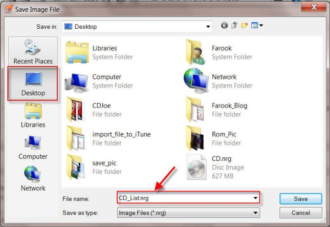 Create New Image File By Nero Burning Rom